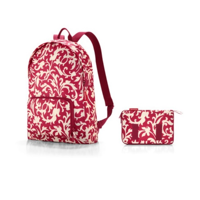 reisenthel Mini Maxi Backpack - Baroque Ruby