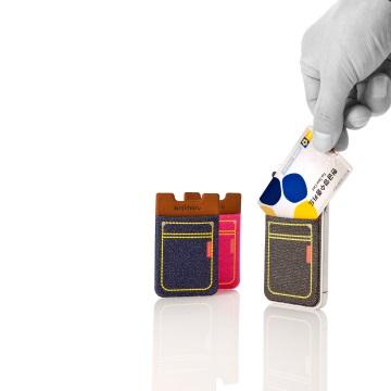 SINJI ארנק לסמארטפון sinji pouch - גינס שחור