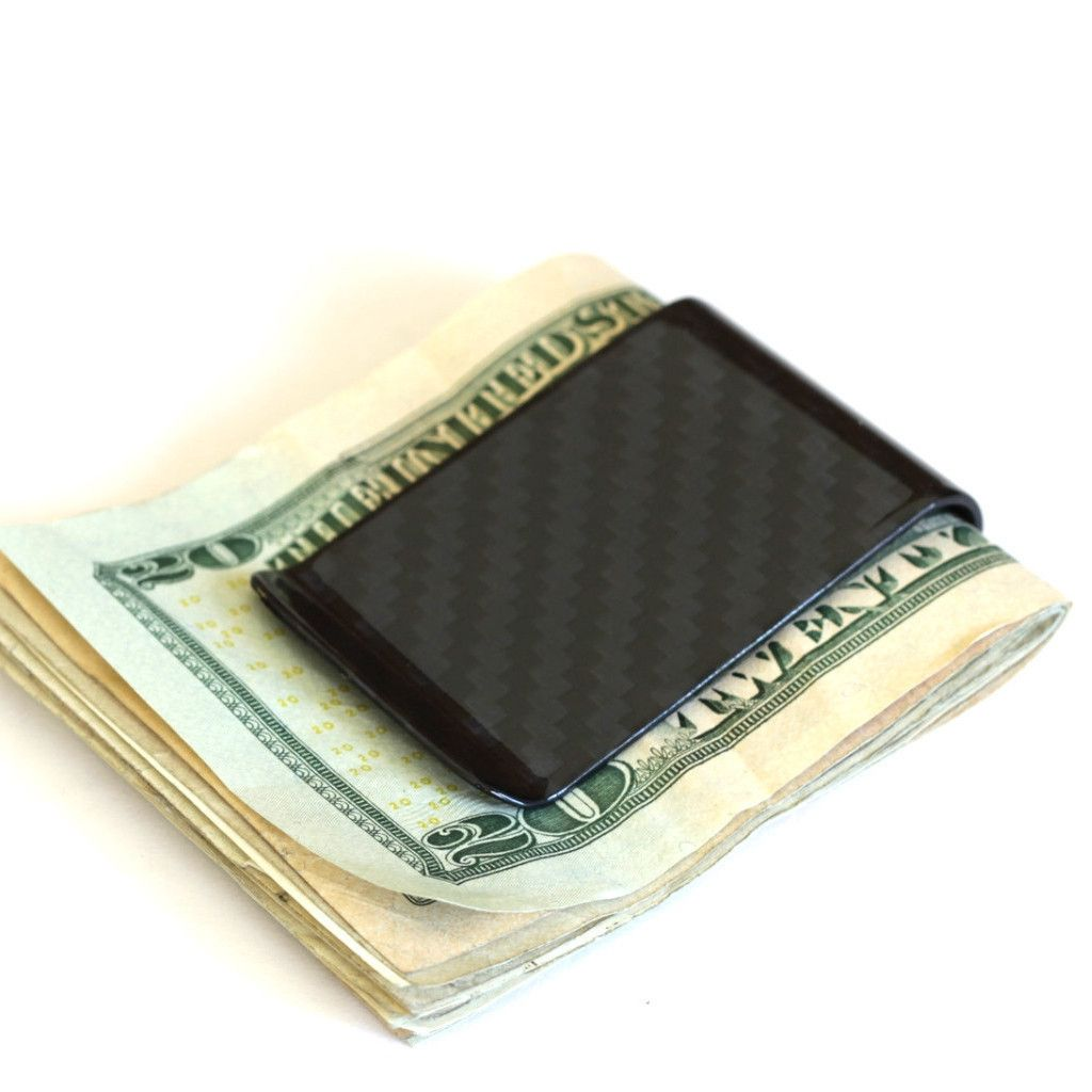 slimTECH Carbon Fiber Money Clip - Carbon Gloss