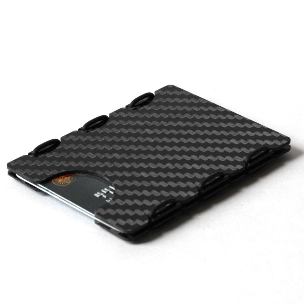 slimTECH Carbon Fiber Wallet With Money Clip - Carbon Stain ...
