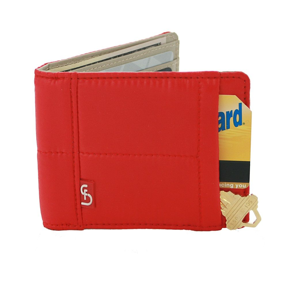 STELLA & FRITZ Dumbo Mens Wallet - Red