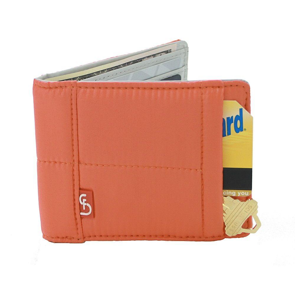 STELLA & FRITZ Dumbo Men's Wallet - Tangerine