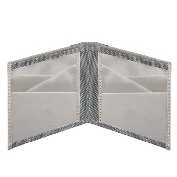Stewart/Stand Stainless Steel Wallet - Silver