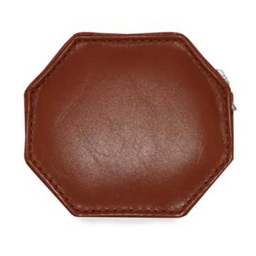 Stewart/Stand Change Purse  - Red / Tan