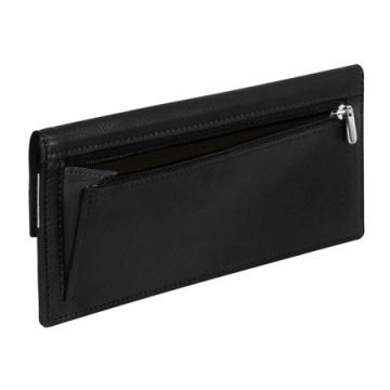 Stewart/Stand Clutch Wallet  - Black / Silver