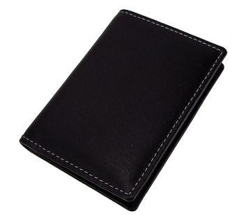 Stewart/Stand ארנק נרוסטה  דגם Driving Wallet  - שחור\כסוף