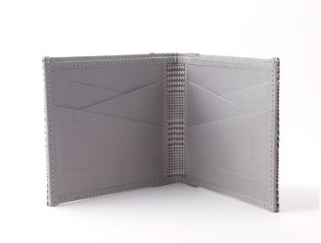 Stewart/Stand Stainless Steel Wallet  - Houndstooth