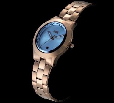 STORM London שעון לאישה דגם Misk - זהב אדום\כחול