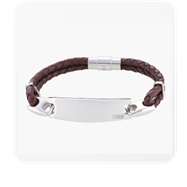 Zeus ID Bracelet - Brown