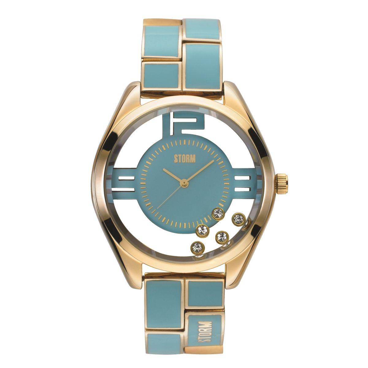 STORM London שעון לאישה דגם Pizaz - כחול ים