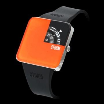 STORM London שעון דגם Squarex - כתום