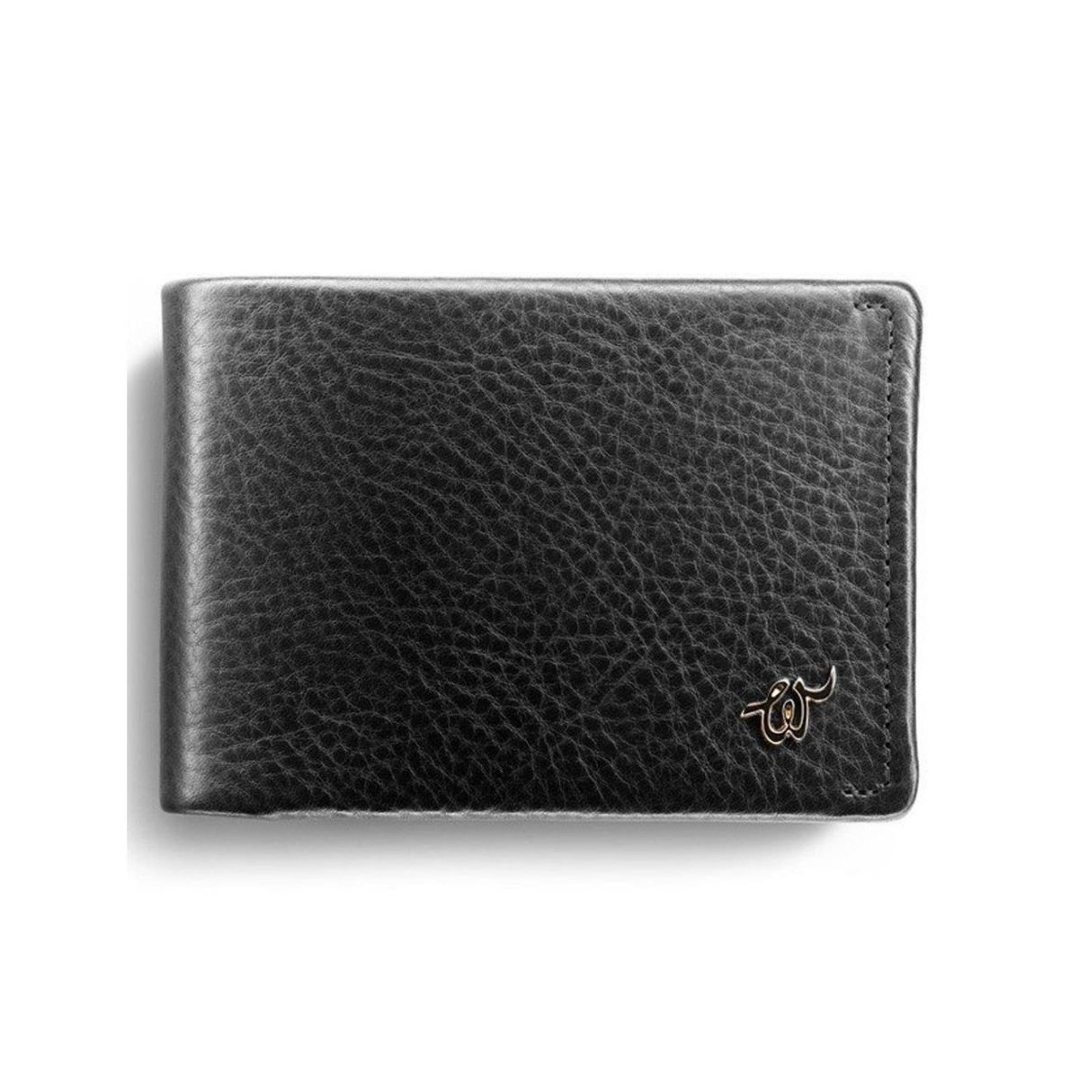 WOOLET Smart Leather Wallet with a Mobile App - Black